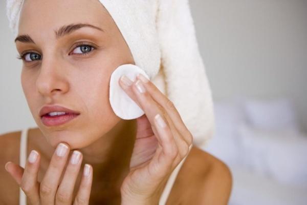 Подготовка к чистке кожи