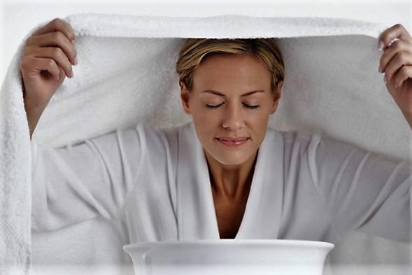 паровые ванночки очищают сухую кожу