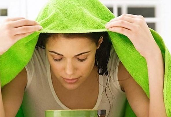 распарить лицо перед очищением