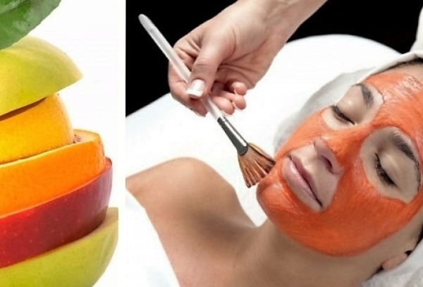 шрам можно убрать пилингом фруктовых кислот