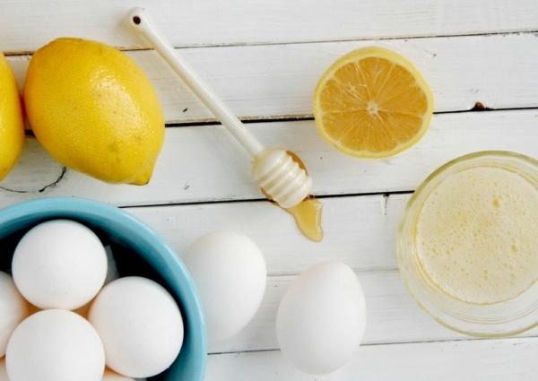 Маски из лимона и меда
