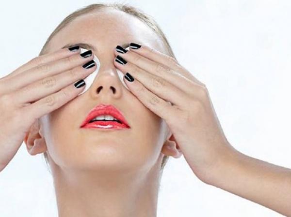 компрессы на глаза