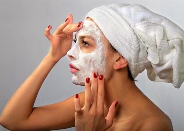 питательная маска для лица зимой