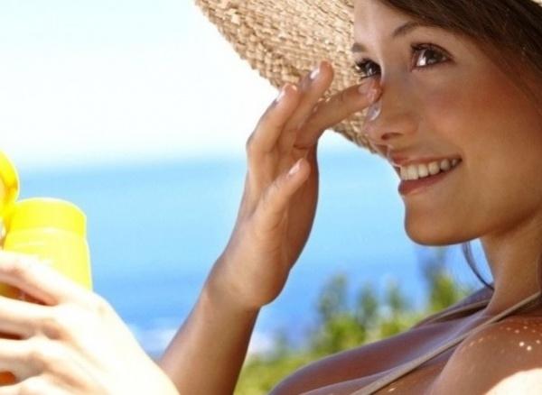 защитить кожу лица от солнца
