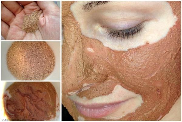 косметическая глина для сужения пор
