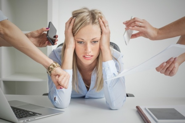 подёргивание глаза может быть вызвано стрессом
