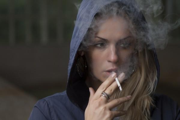 курение способствует старению кожи лица