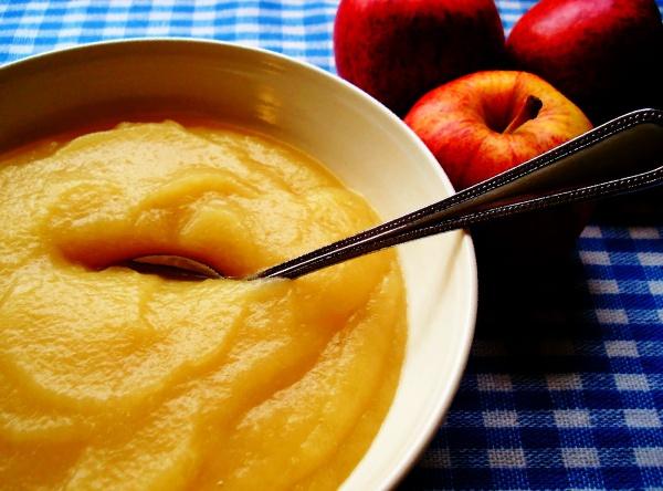 Пюре из яблока